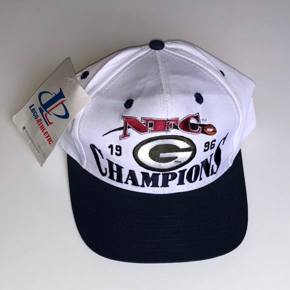 f1aadef5 logo 7 Accessories | Nwt Vintage 90s Green Bay Packers Snapback ...